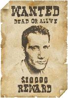 плакат о розыске