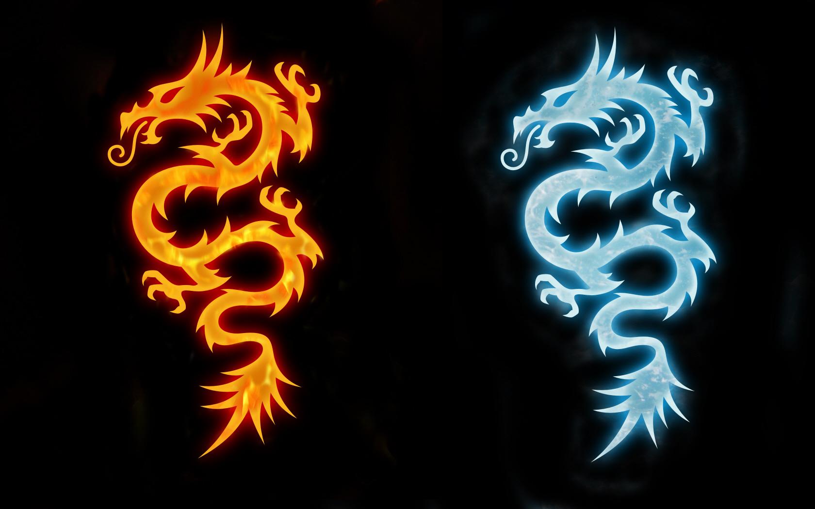 фото огненного дракона