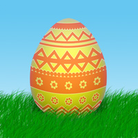 нарисовать яйцо