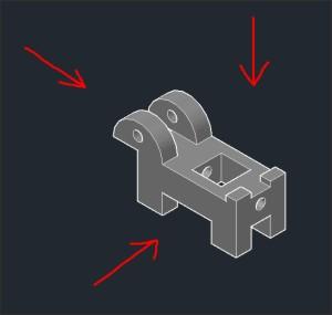 Как в Autocad из 3d модели сделать 2d чертеж