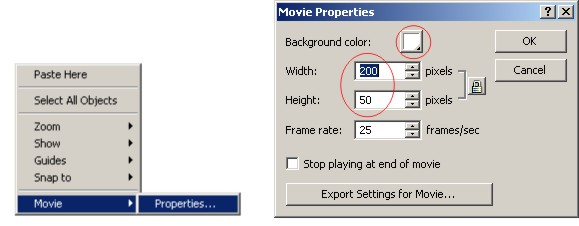 параметры документа
