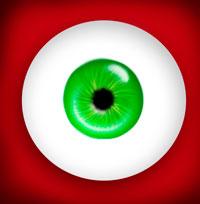 глаз в фотошопе