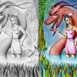 картина приносит удачу драконам