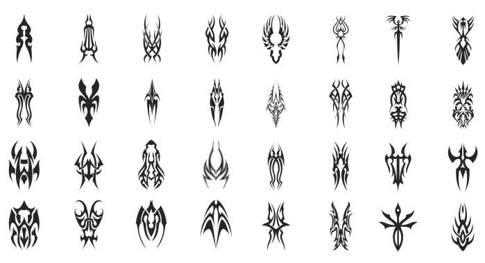 векторные тату